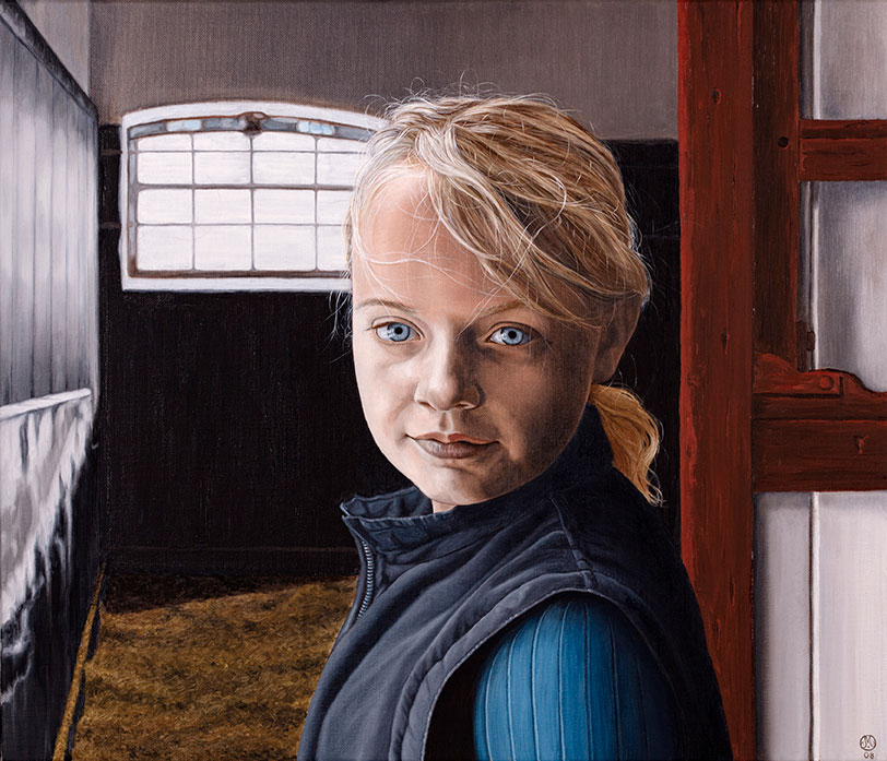 Anna Skadhede, Oil On Canvas, 80 x 100 cm