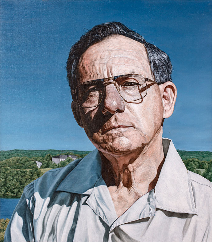 Michael Roth, Oil On Canvas, 80 x 80 cm